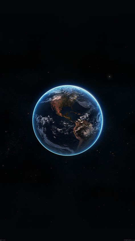 wallpaper earth apple af19 earth view from space amazing satellite illust art