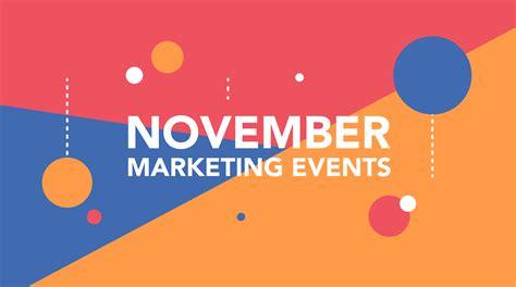design event november november 2015 marketing and design events