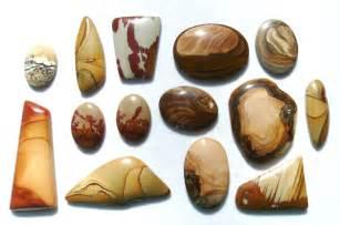 Rock Jewelry Making - picture jasper cabochons