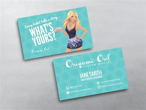 Origami Owl Business Cards - origami owl business card 12