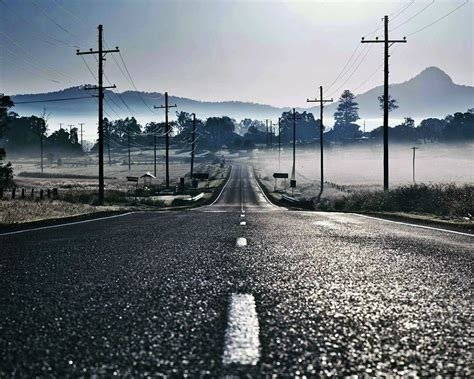 wallpaper jalan foggy road 1920x1080 wallpapers