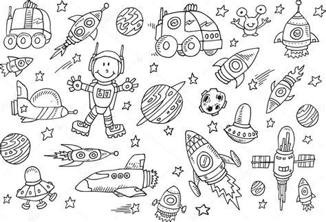 doodle 4 registration form space sketch doodle vector set stock vector