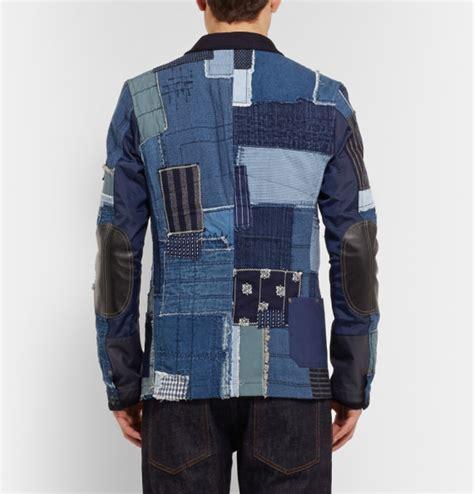 Junya Watanabe Patchwork - junya watanabe denim patchwork jacket freshness mag