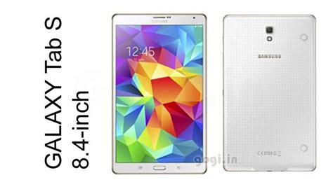 Samsung Tab 4 8 Inci samsung galaxy tab s 8 4 10 5 inch with impressive display launched