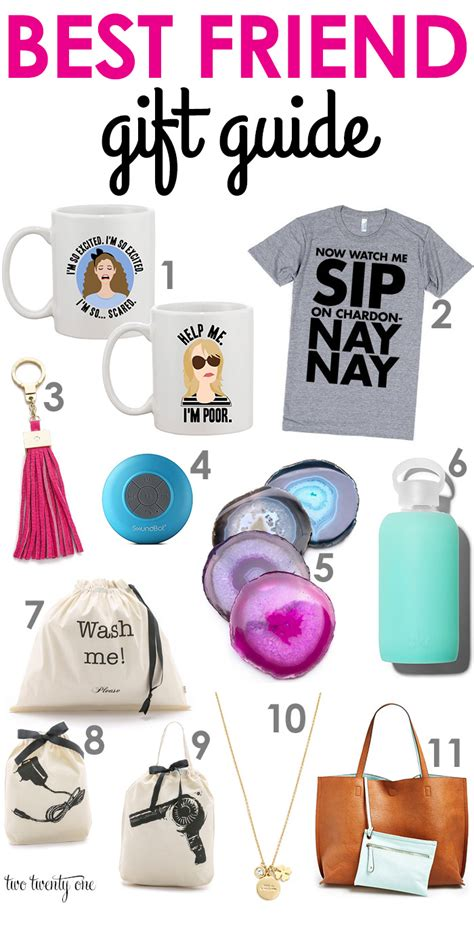 Top 7 Gifts For Your Bff by Best Friend Gift Guide