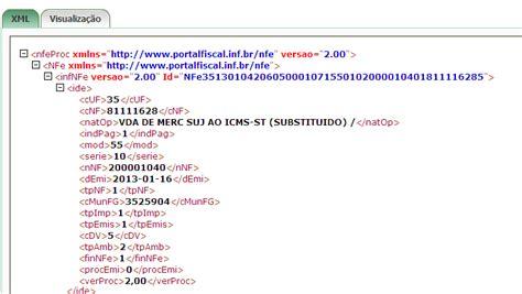 layout xml nfe 2 0 dicas e truques de nfe validando um xml on line na sefaz