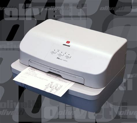 Printer Olivetti Pr2 Plus specialized printer for post offices banking