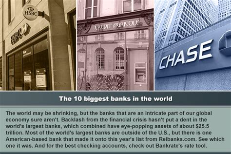 largest bank in the 10 largest banks in the world bankrate