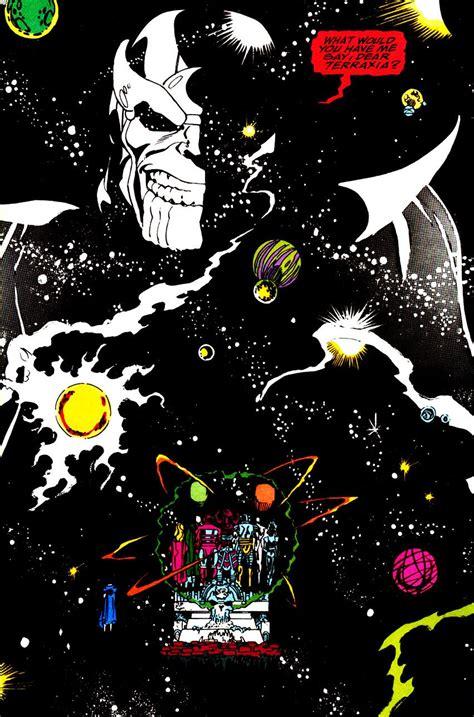 darkseid infinity gauntlet darkseid with box vs thanos with infinity gauntlet