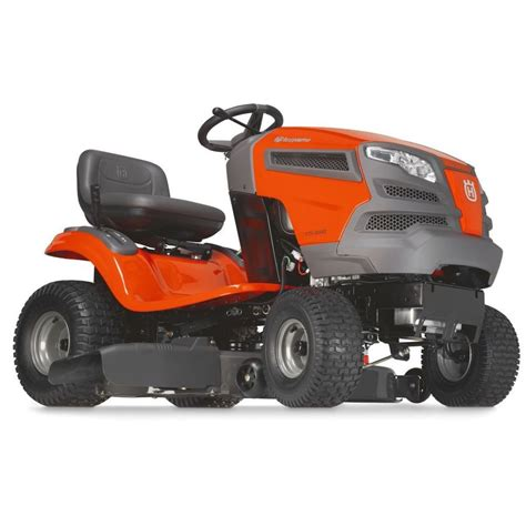 Lowes Garden Tractors by Husqvarna Yth22k42 22 Hp 42 In Hydro Tractor Lowe S Canada