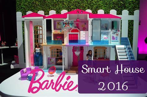 barbie games doll house new 2016 barbie barbie hello dreamhouse toy fair ny youtube