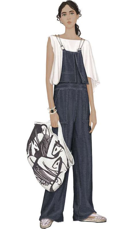 Jumpsuit Noni Overall peclersparis alabaster muse trend from the casual trendbook ss 2018 trends 711588