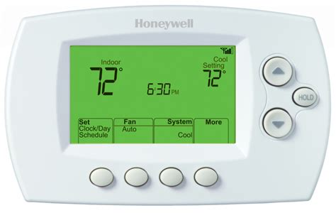 resetting wifi on honeywell thermostat wi fi 7 day programmable thermostat rth6580wf honeywell