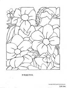 Galerry flower free coloring pages printable