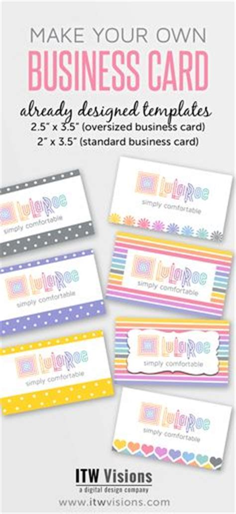 Drop Your Business Card Template by Retail And Map Pricing Lularoe Retail
