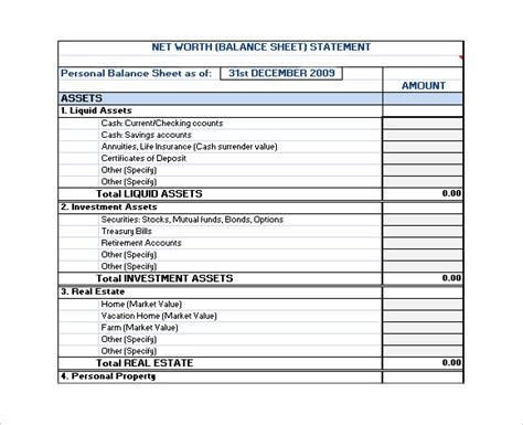 financial plan template 9 free sles exles format