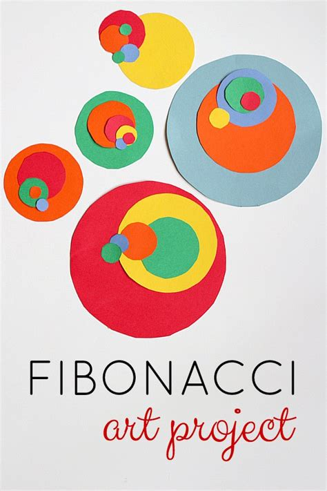 math craft projects fibonacci storybooks and projects for artsy