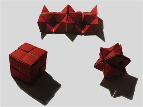 Origami David Brill - origami quot flexicube quot by david brill part 1 of