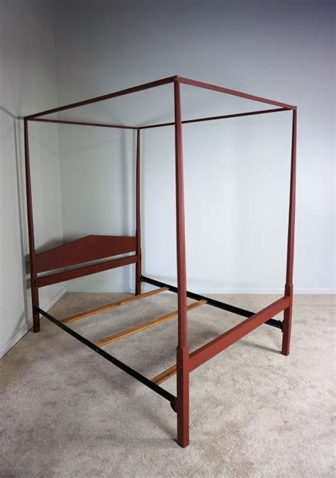 vintage canopy bed antique canopy bed