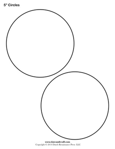 circle templates blank shape templates free printable pdf
