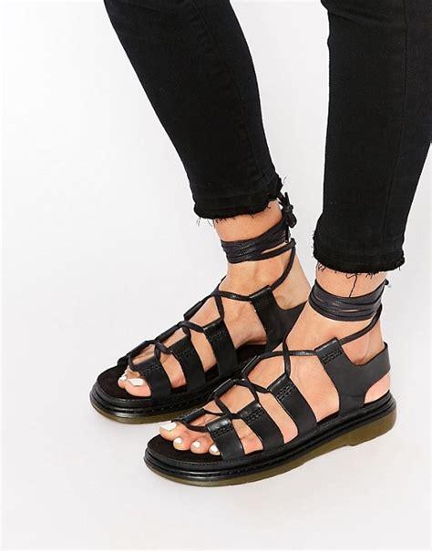 New Arrival Original Icon Wringkle Casual Lace Black dr martens dr martens ghillie lace up flat sandals