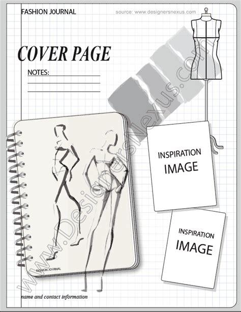 sketchbook templates fashion portfolio v17 fashion design sketchbook layout