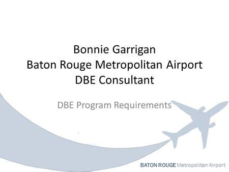 baton rouge metropolitan airport extension whlc lynx blue line extension pre proposal meeting for real