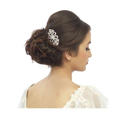 Vintage Bridal Pearl Hair Comb by Vintage Chic Pearl Hair Comb Hc97 Athena Bridal