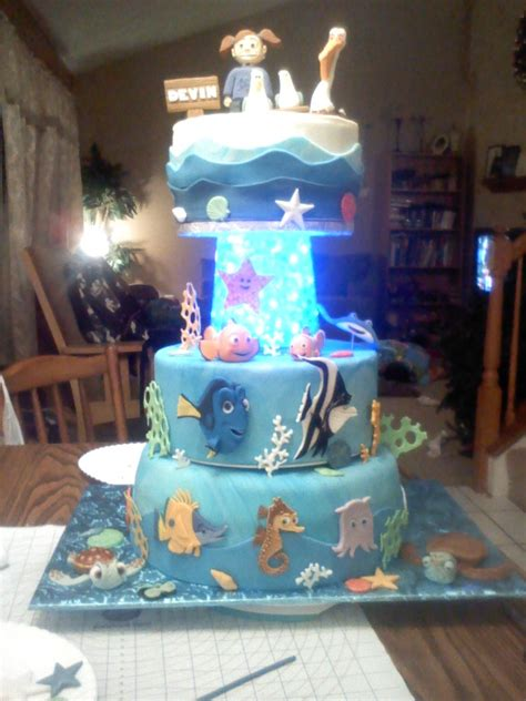 Finding Nemo Cake Cakecentral M