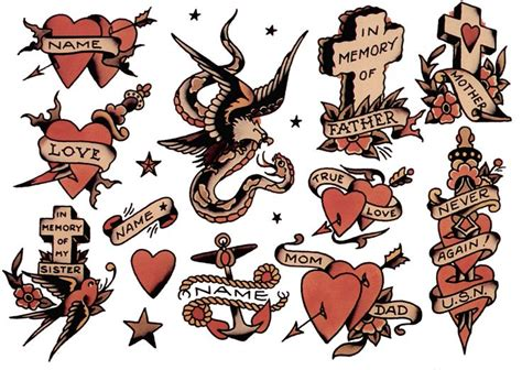 sailor jerry heart tattoo designs 269 best images about sailor jerry vintage
