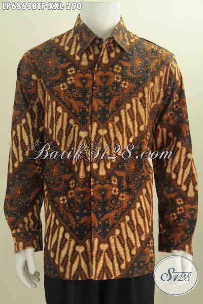 Batik Kemeja 211 kemeja batik lengan panjang 3l busana batik elegan mewah