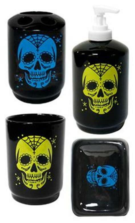 1000 Images About Skull Bathroom Accessories And Decor On Skull Bathroom Accessories