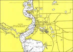 st johns river map florida st johns river wakela 1976