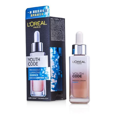Loreal Youth Code Essence l oreal new zealand youth code prodigious luminizing