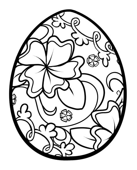 easter coloring pages for middle school easter egg coloring pages getcoloringpages