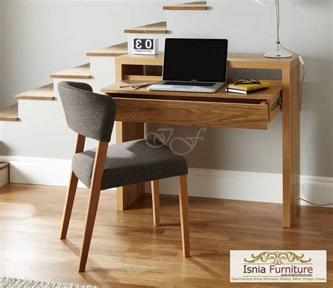 meja belajar new kayu solid 187 indonesia furniture teak