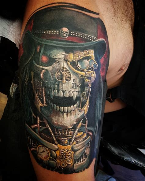 steam punk tattoos steunk tattoos artist magazine
