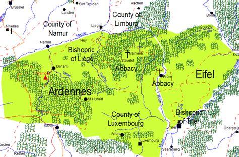 French Country Wedding Invitations - belgium ardennes region map rachael edwards