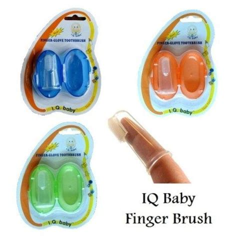 Lucky Baby Toothbrush Sikat Gigi Bayi iq baby finger brush baby heal care babies baby finger and fingers