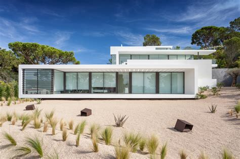 a beach house in portugal goes modern design milk algarve portugal luxury properties real estate for sale