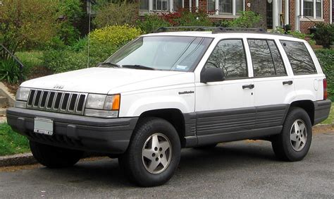 1995 jeep grand cherokee jeep grand cherokee zj wikipedia