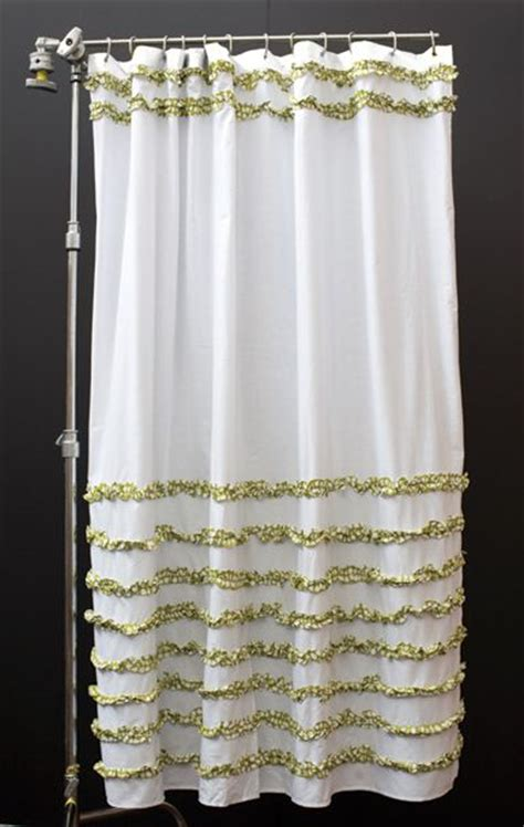 india rose shower curtain 25 best images about green bathroom on pinterest ruffle