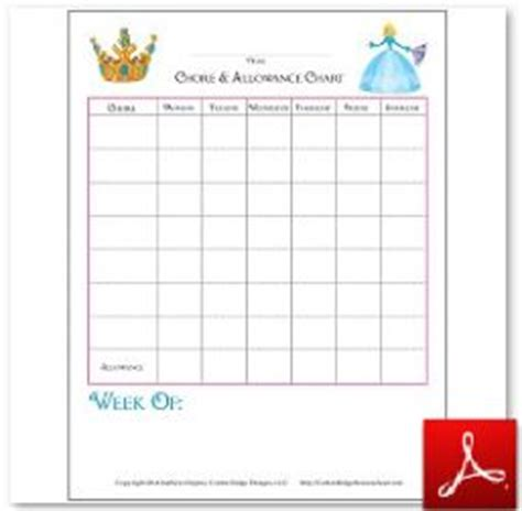 10 best images of fill in job chart free printable blank