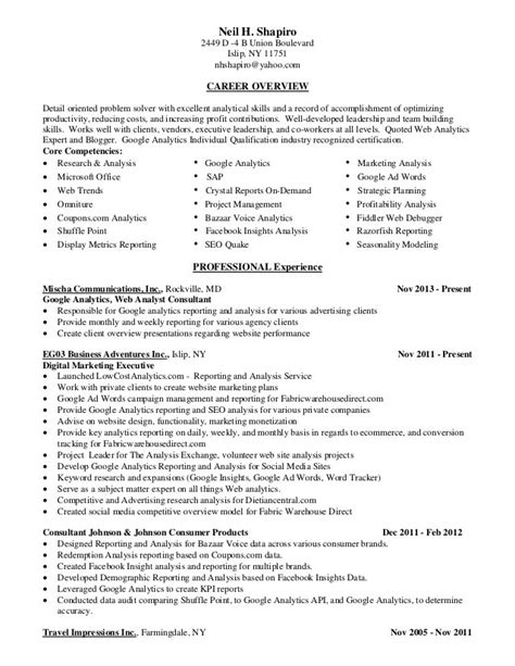 Strategic And Tactical Mba by Business Analyst Resume Linkedin Free Resume Sles