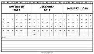Calendar December 2017 To December 2018 Calendar 2018 November December Mathmarkstrainones