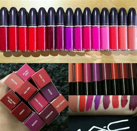 Mac Retro Matte Liquid Lipstick nadyaa mk new mac cosmetics retro matte liquid