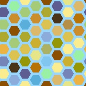honeycomb pattern ai free vector tiles free graphics for commercial and personal use