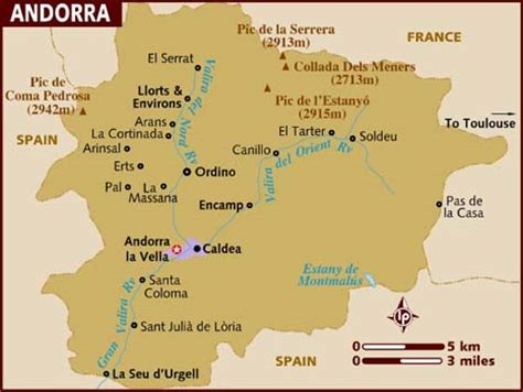 andorra on a map international association home page