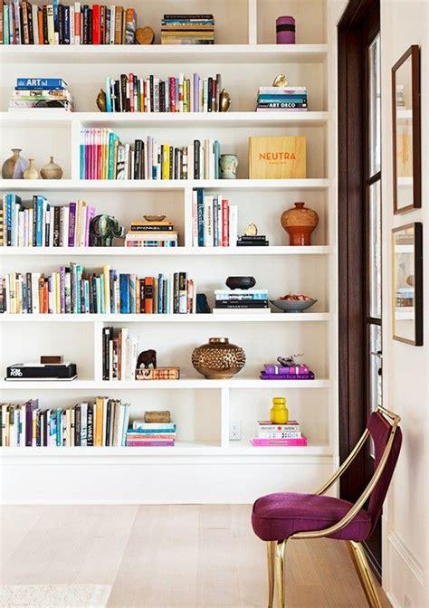 bookshelve ideas best 25 white bookshelves ideas on living