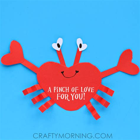 valentines for s day shaped animal crafts for